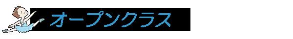オープンクラス(佐藤朱実バレエスクール)