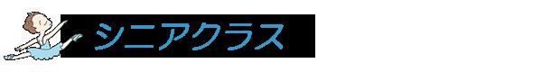 シニアクラス(佐藤朱実バレエスクール)